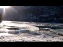 Зимняя Катунь, Горный Алтай. База Солнечная долина