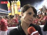 Debora Falabella на карнавале