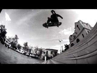 Скейт побег в Афинах