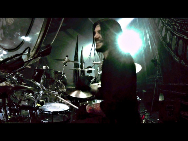 Daniel Erlandsson (Arch Enemy) - Under Black Flags we March [drumcam]