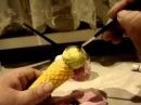 Мастер класс по созданию каркасной куклы Дашенька в скульптурно текстильной чулочной технике ч 12