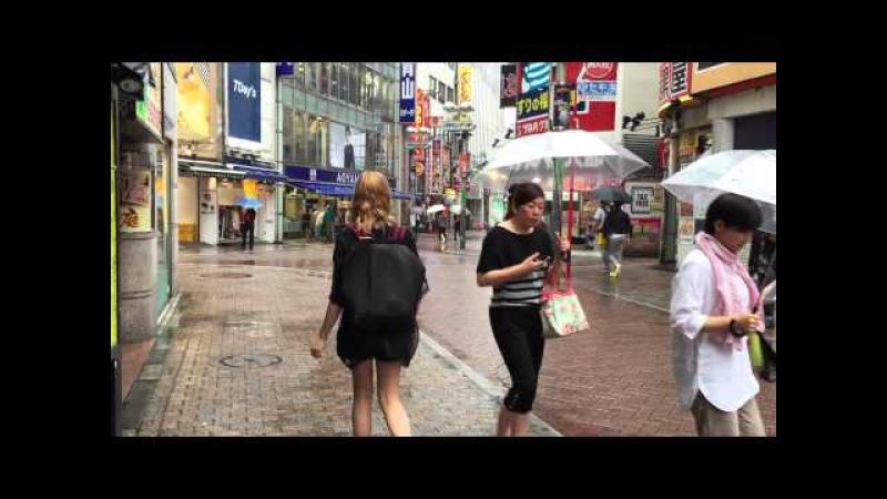 Vlog : коничива , я лысая , ливень , не надо меня подвозить!