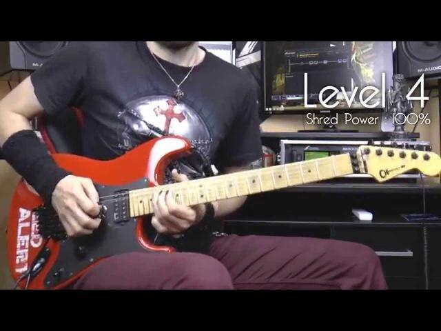 4 levels of melodic guitar shredding Neo