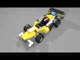 31023-2 Lego Creator Yellow Racers