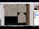 3D MAX Элементарное текстурирование на примере домика часть 4