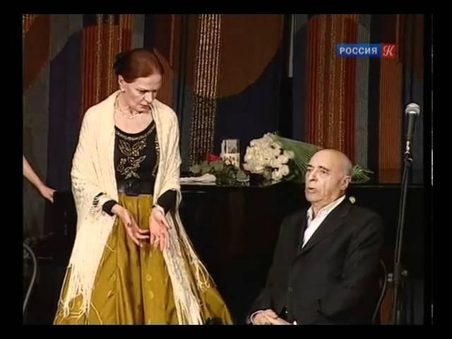 Этуш на вечере Л. Чурсиной в ЦДА