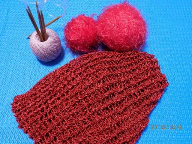 Вязание крючком. Как связать шарф, бактус. МК
