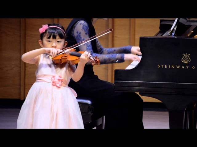 J.B. Accolay, Concerto in A minor - Jessica Jeon (5 yrs old)