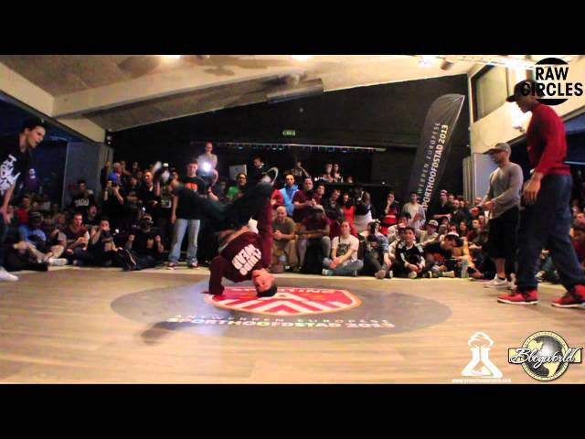 YORIYAS LIL ZOO vs KAREEM TATA (RAW CIRCLES 2013) WWW.BBOYWORLD.COM