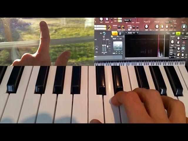 Пальцем по стеклу-получаем музыку :)