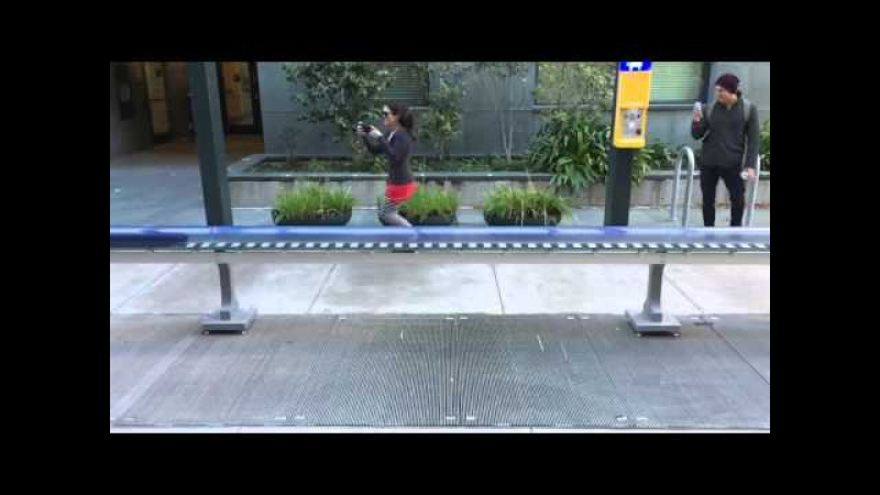 Масштабная модель поезда Гиперпетли, замедленное (Демо) - Вариант Университета Berkeley