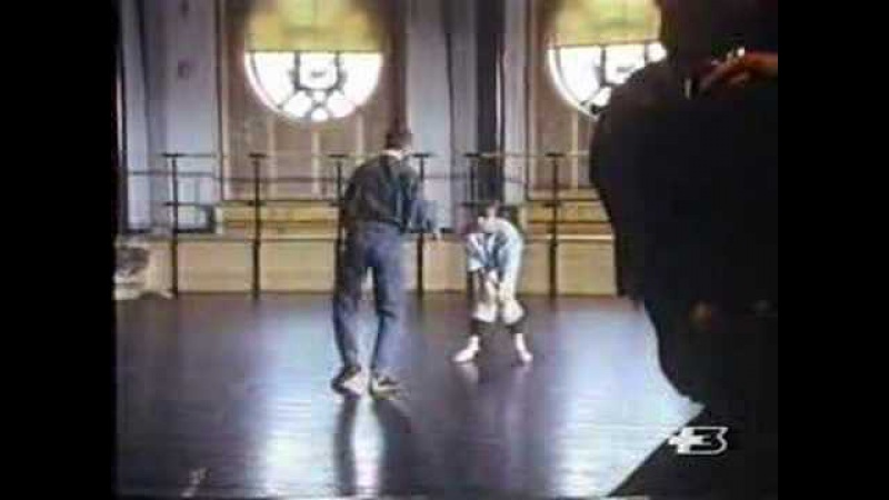 Sylvie guillem in an old documentary