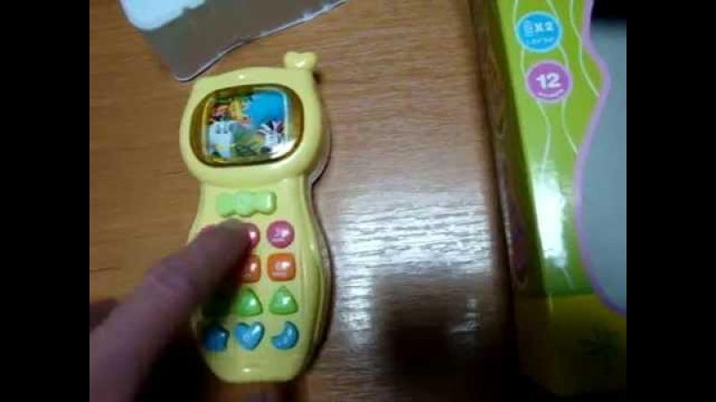 Видеообзор детская игрушка - телефон Tongde (kidtoy.in.ua)
