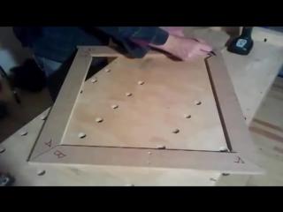 Столярка мебельное приспособление для соединения деталей под углом 45 градусов своими руками