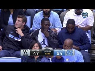 NCAA-Wofford-at-North-Carolina - 2