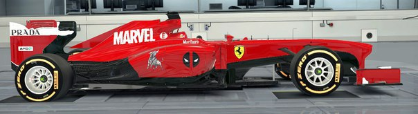 Marvel Ferrari F1 Team