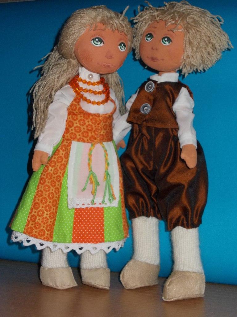 Куклы Ольги Арисеп