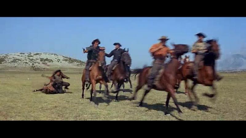 Схватка с бандитами (Виннету и Громовержец)