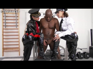 Sindrive.com - athina and henessy - glorious bastards style cfnm dick domination does the trick