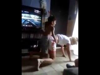 Мальчик и женщина