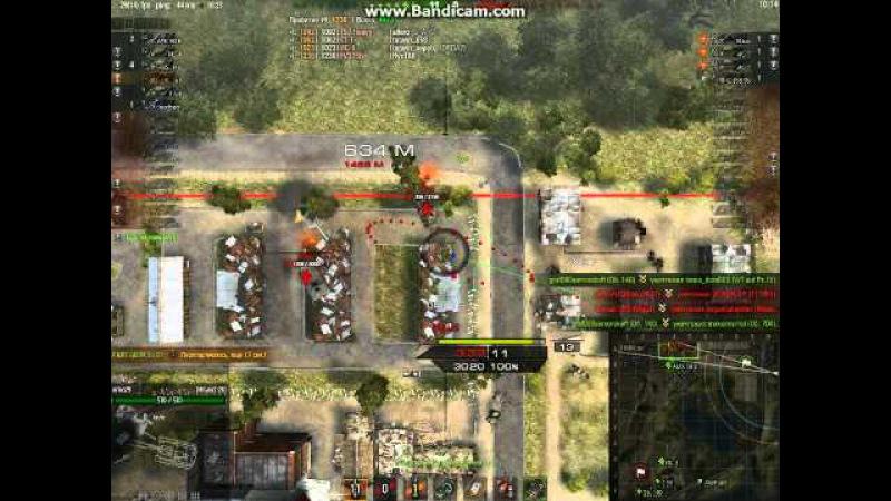 снайперский бой на 261 на бб но ис 7 не почем
