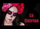 Макияж на Хэллоуин ❤ Катрина / Сахарный череп на День Мертвых