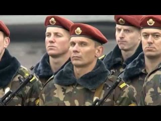 Войска Белоруссии дали клятву президенту 06 11 2015
