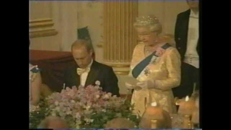 The Queen hosts Vladimir Putin June 2003