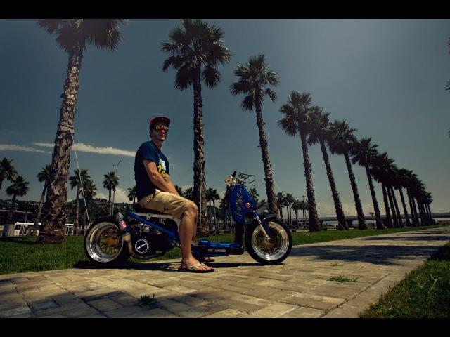 Honda Zoomer / Ruckus / Alex Neronov / Half Roll Automotive