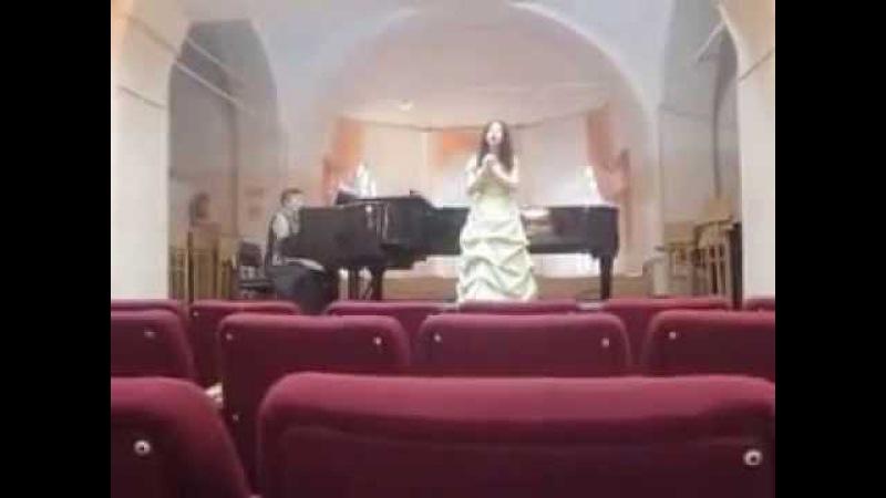 Viktoria Belchenkova -Речитатив и романцетта Маши из оперы Дубровский (Направник)