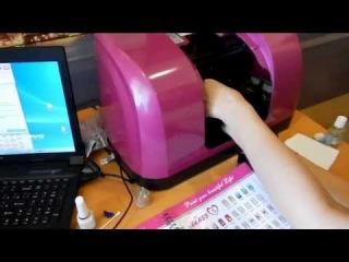 принтер для ногтей, печать на ногтях