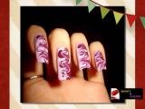 Бордовые ногти дизайн  МАНИКЮР 2015 Идеи маникюра, модные цвета и новый дизайн ногтей