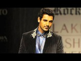 Bollywood Hunk John Abraham on Ramp at Lakme Fashion Week