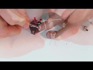 Как сделать мини робота жук своими руками. How to make a mini bug robot