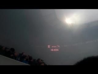 Сходил на матч Черноморец-Днепр 21.11.15.