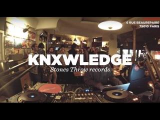 Knxwledge (Stones Throw) • Live Set • LeMellotron.com