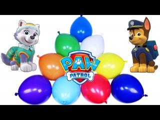 Щенячий патруль. Открываем пакетики с сюрпризом и Киндеры. Paw Patrol Toys. The Balloons Show.