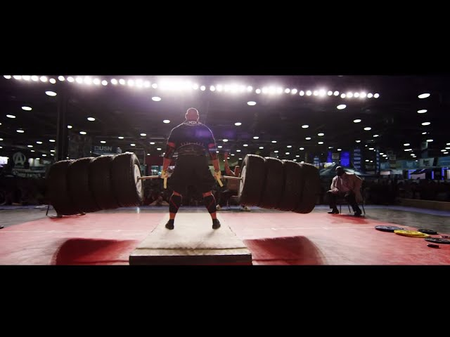 The 2015 Arnold Strongman Classic — The Hummer Tire Deadlift