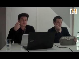 Віталій Портніков і Андрій Горних: Війна і мир в інформаційному просторі