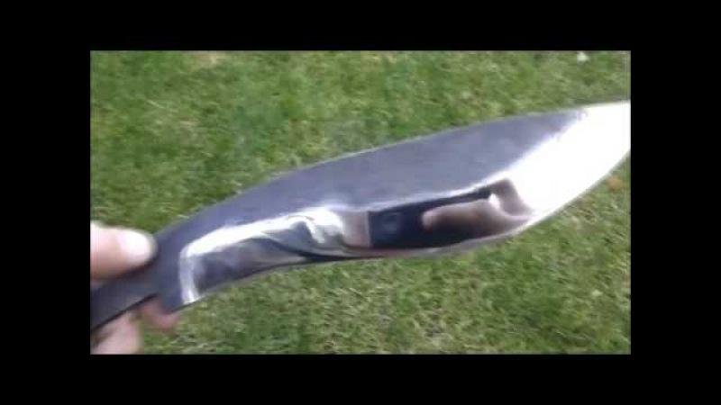 Нож своими руками видео ютуб