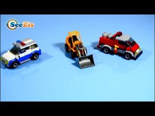 Мультики про Машинки Погрузчик. Серия 3 - Тики Таки