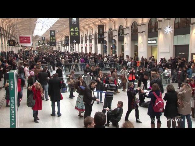 Flash Mob de WCS N°4 - 12 janvier 2013 - Gare St Lazare - Vidéo officielle