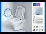 Технология CleanOn в серии Carina от Cersanit. Легкая чистка унитаза (www.santehimport.com)