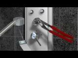 Видео инструкция монтажа душевой панели Hansgrohe Pharo Lift (www.santehimport.com)