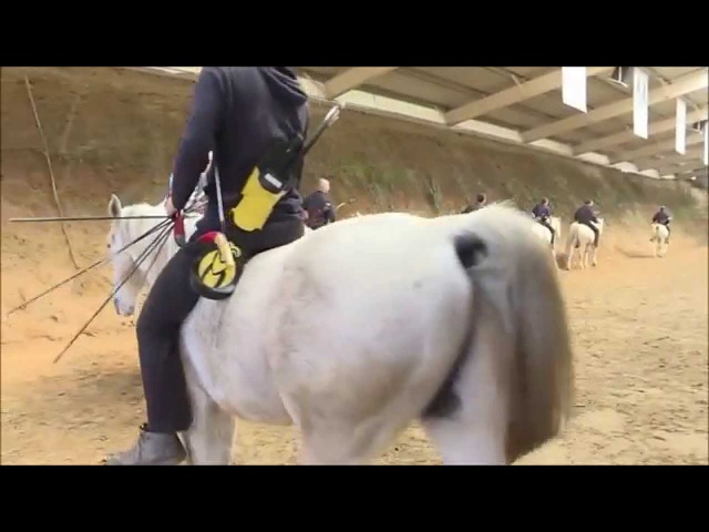 Hungarian Horseback Archery~ Master Lajos Kassai 2015-16