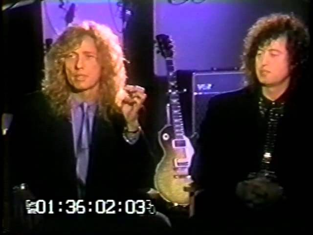 David Coverdale Jimmy Page unedited interview 1993