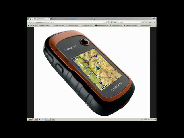 Установка карт OSM на Garmin Etrex 20 (Garmin maps installation)