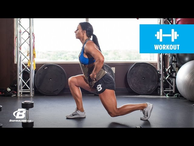 Ashley Horner's Full-Body Rest-Less Workout | Tabata