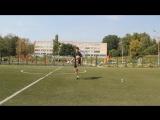 Урок 8. Удержание мяча на колене