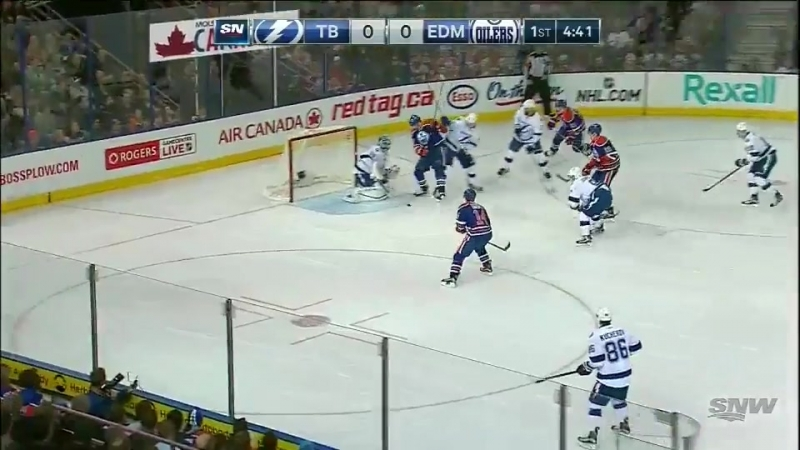 Tampa Bay Lightning at Edmonton Oilers - Щульц